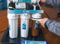 Как сменить фильтр для воды.