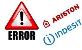 Сервісні коди (коди помилок) посудомийних машин Indesit і Ariston