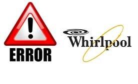 Коды ошибок стиральных машин Whirlpool.