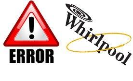 Коды ошибок посудомоечных машин Whirpool.