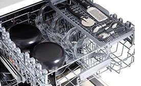 Что происходит внутри? Как работают посудомоечные машины?