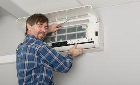 Как самостоятельно почистить домашний кондиционер?