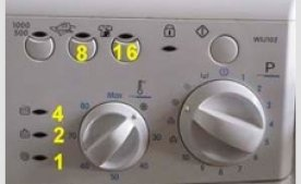 Мигает стиральная машина: вероятные причины