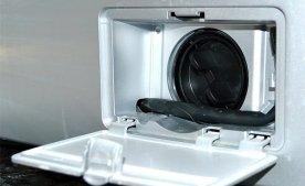 Прочищення фільтра пральної машини.