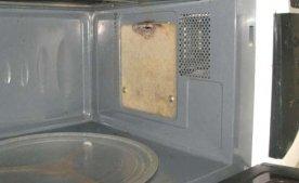 Замена слюдяной пластины в микроволновой печи
