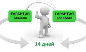Условия возврата или обмена товара