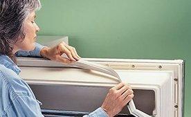 Замена уплотнительной резины в холодильнике