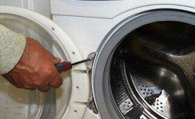 Замена уплотнительной резины в стиральной машине