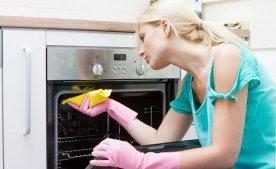 Способи швидкого очищення духовки.