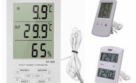 Термометри - типи, види, застосування.
