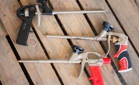 Пистолет для монтажной пены – что это и как применяется.