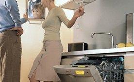 Шланг с аквастопом и гайка-зажим для труб посудомоечных машин